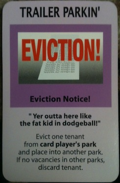 Even The Action Cards Were Accurate With Topics Ranging From Eviction To Sewer Back Up Junk Cars Overall It Was Much More Pleasurable Play