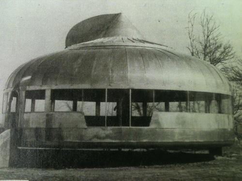 Buckminister Fuller Mobile Home